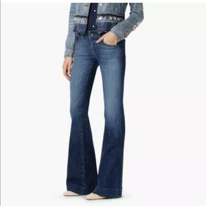 J Brand 29 Bell Bottom Flare Blue Jeans Mayflower